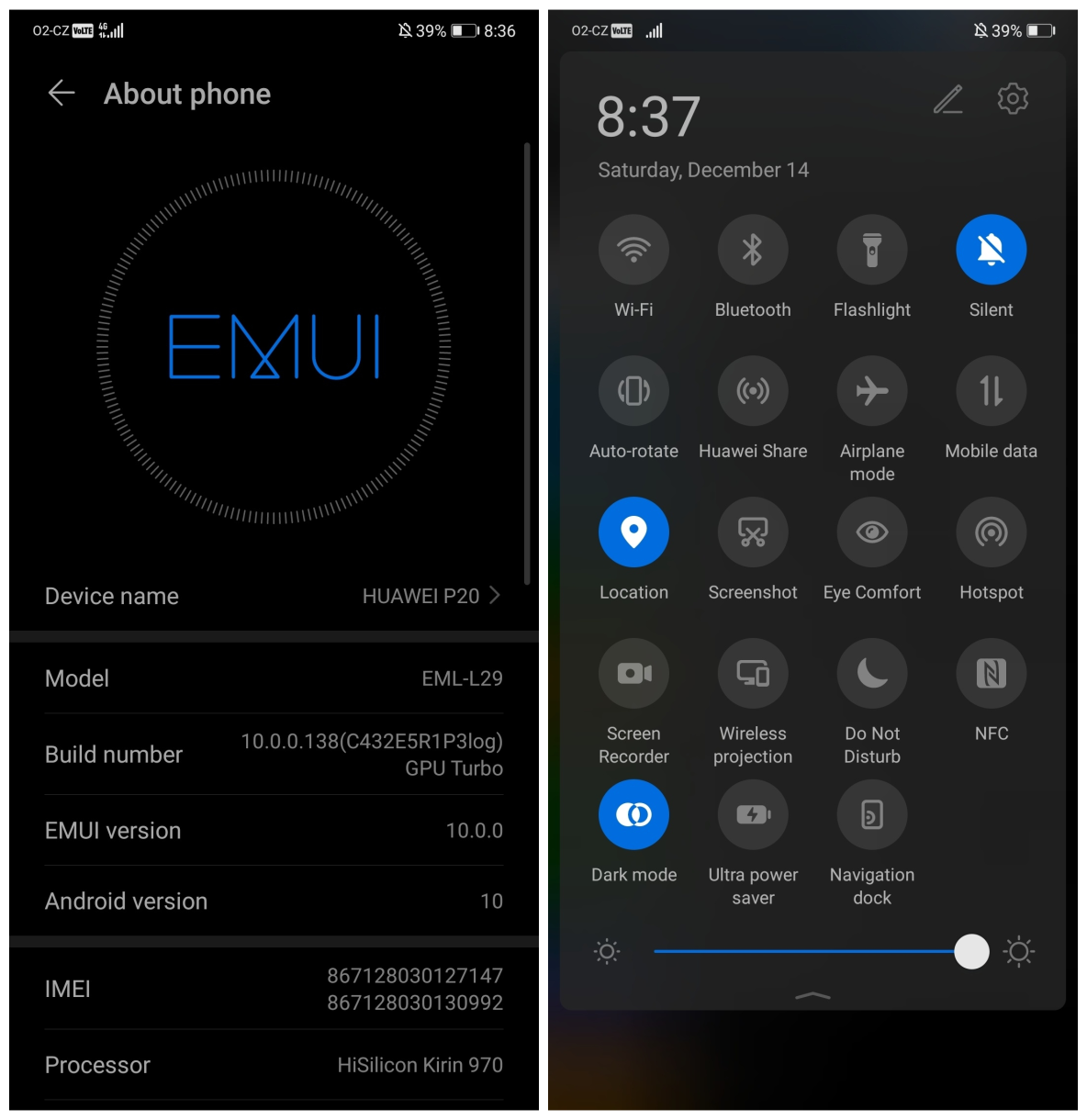 Huawei Community Huawei P20 With Android 10 Emui 10 Beta En