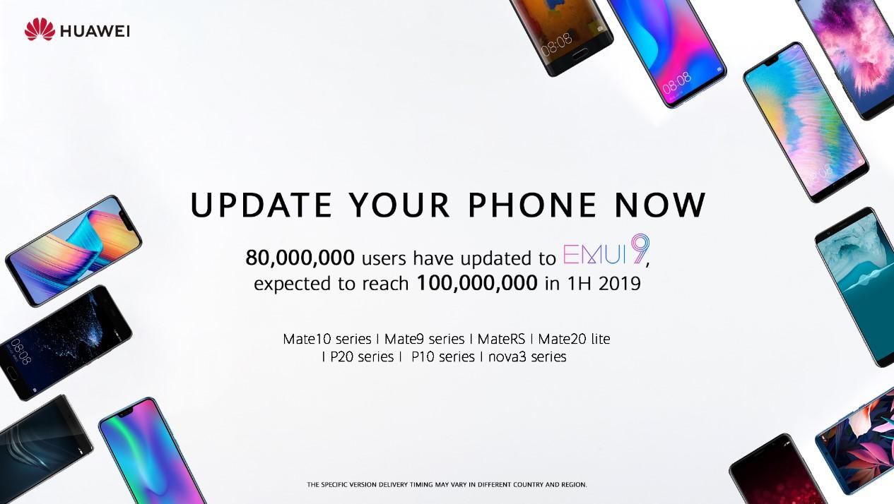 Update für einige Huawei Smartphones