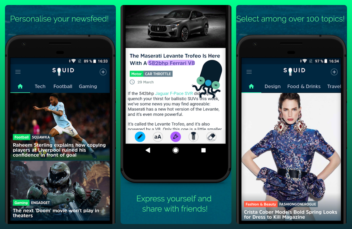 HUAWEI Community|[App Recommendation] SQUID - News & Magazines | Explore It  On AppGallery(en)