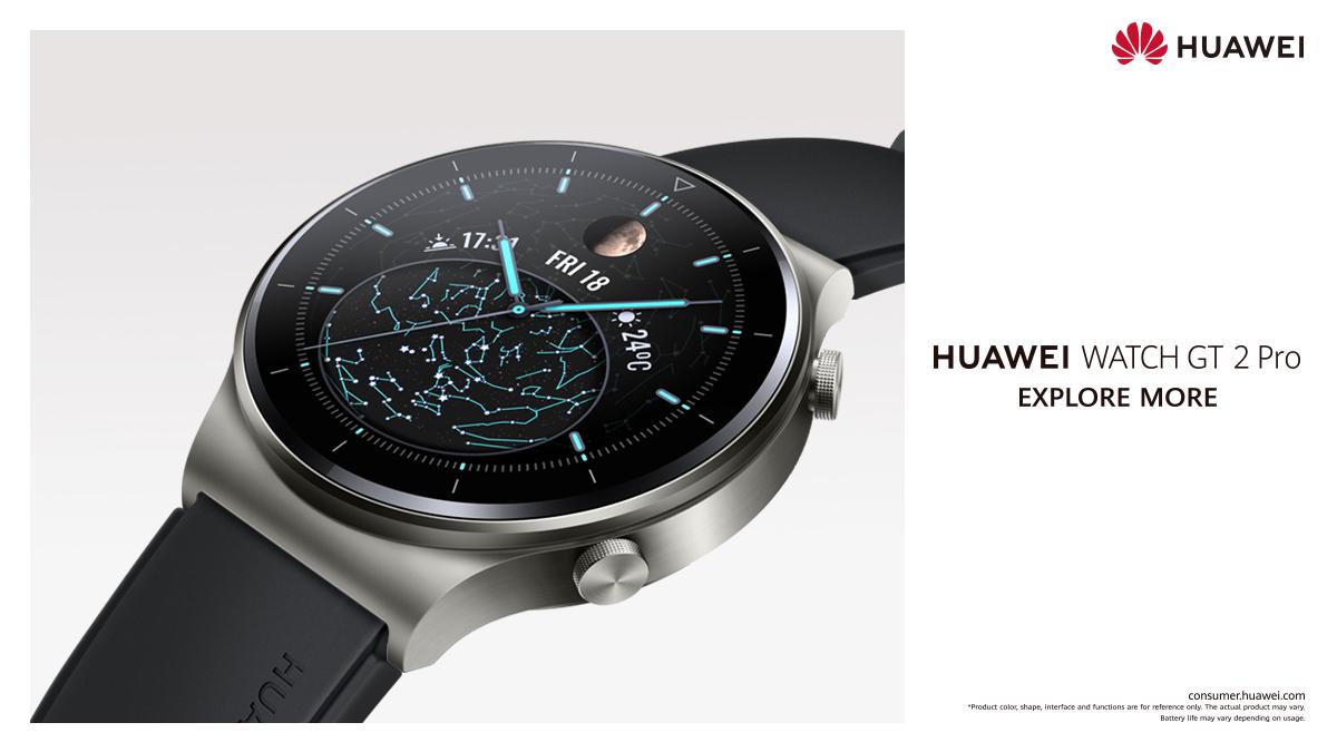 HUAWEI Community|Huawei Launches New Flagship Smartwatch, The HUAWEI WATCH  GT 2 Pro